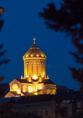 We can see Sameba Church in the distance (photo by Susanna Melo).